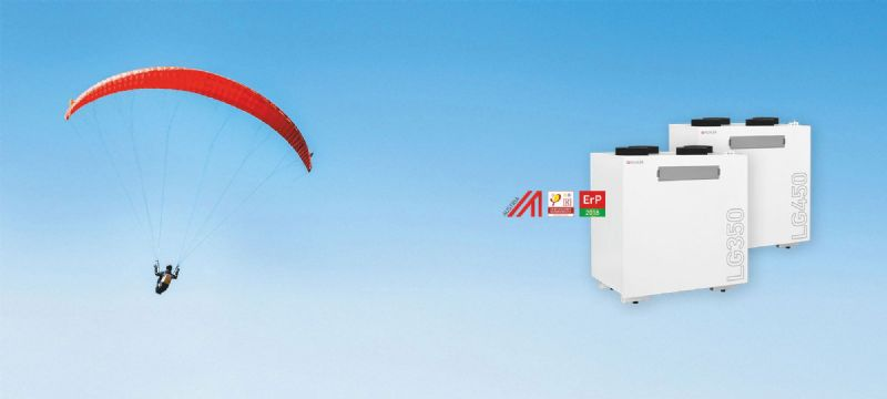 Pichler LG350 and LG450 Heat Recovery Ventilation Units
