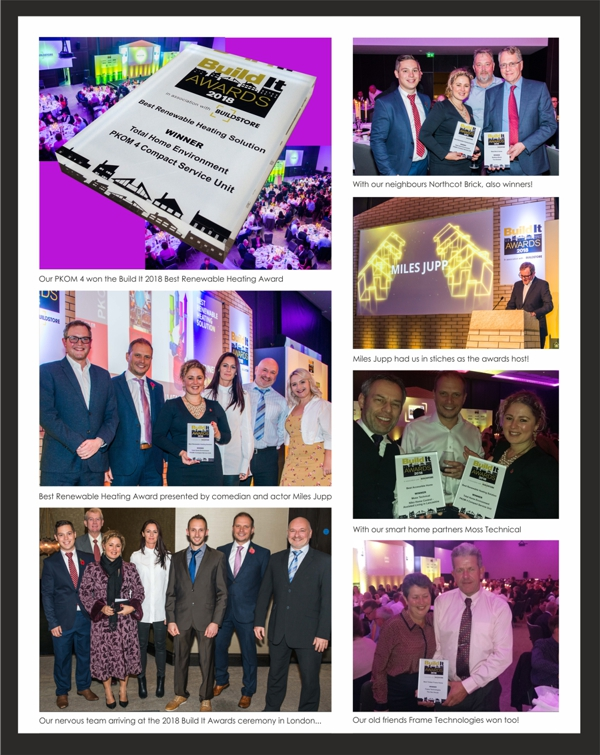 Winners Photos 2018 Build It Awards Best Renewable Heating Solution