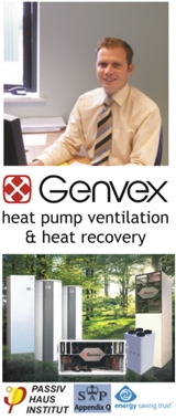 Total Home Environment and Genvex heat recovery ventilation