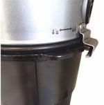 Beam Central Vacuum twist-lock bucket
