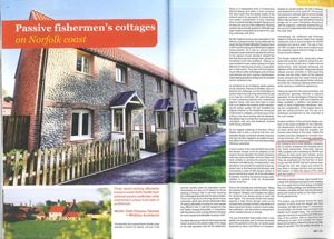 Burnham Overy PassivHaus with Combi 185 Article