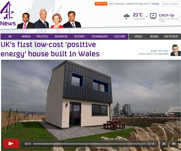 picture of Channel 4 news link to Solcer House Documentary