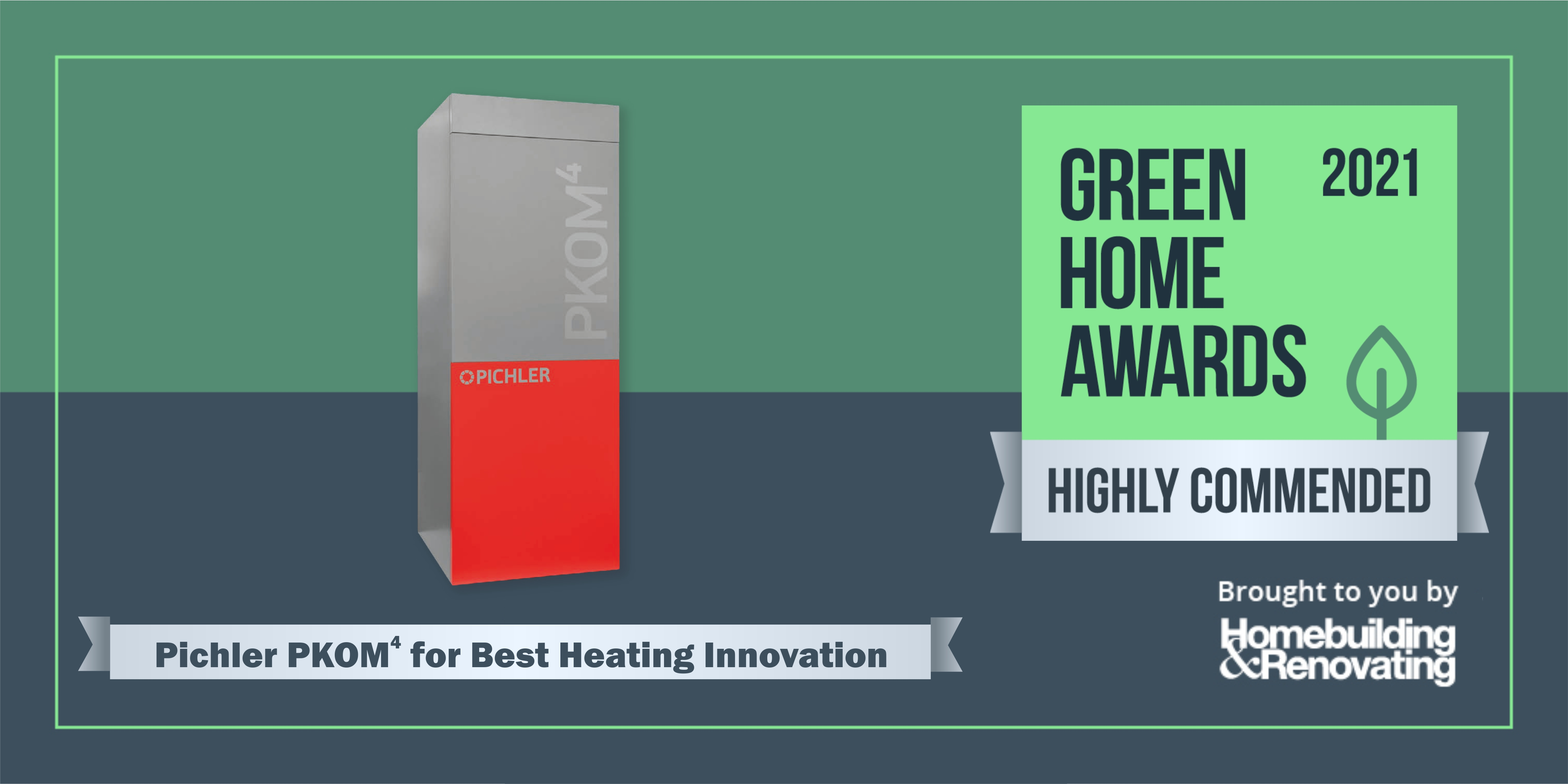 PKOM 4 Highly Commended in Green Home Awards