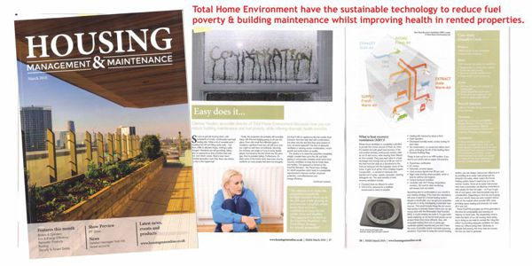 Housing Management and Maintenance ventilation article