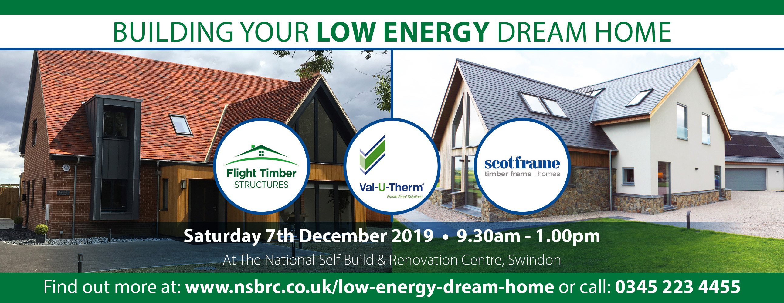 Building Your Low Energy Dream Home Banner