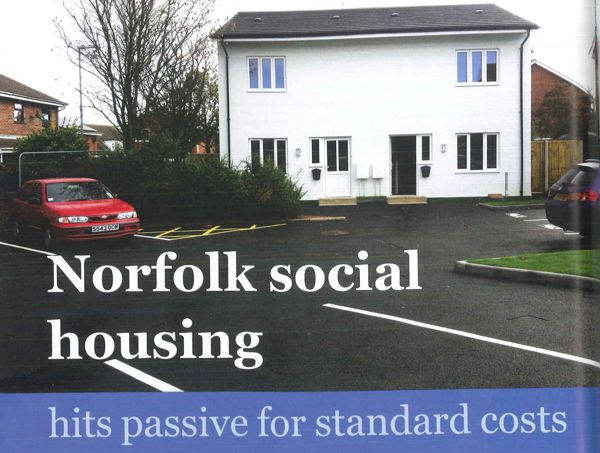 PassivHaus Property at Standard build cost