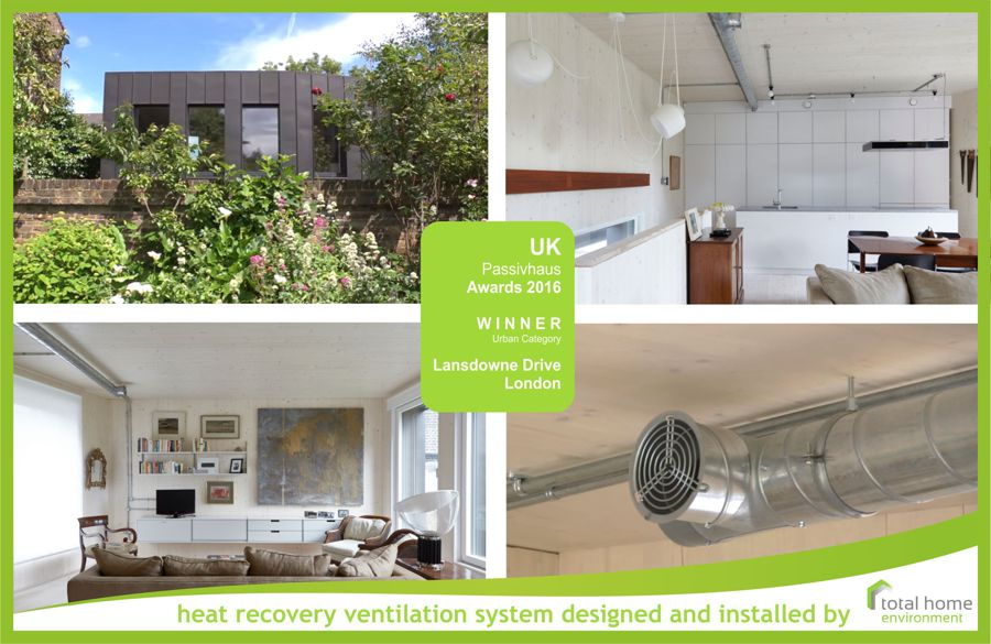 UK Passivhaus Urban Award Winner with Total Home Enviornment